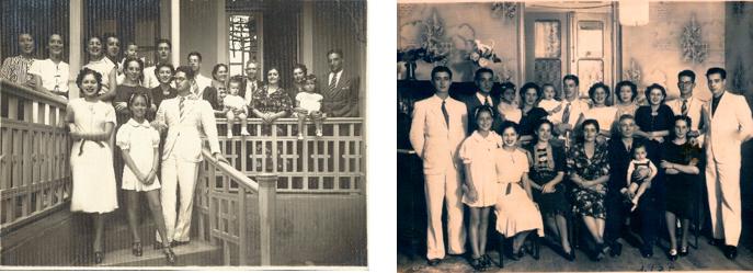 Plínio Alves Monteiro Tourinho – Esposa, filhos, genros, noras e netos