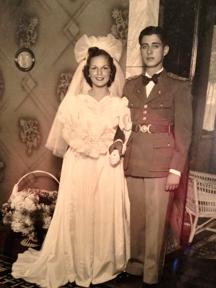 Casamento, Ayrton e Gleusa Tourinho, em 1939